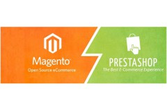 ECommerce Platforms Comparison - PrestaShop vs Magento